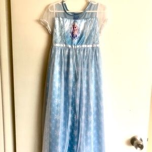 Disney Frozen Princess Elsa Nightgown or Costume